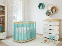 Круглая кроватка: модели для новорожденных и возможные современные модификации (125 фото)