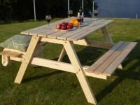 Дачный стол — подбор простых, надежных и стильных решений для постройки своими руками (90 фото)