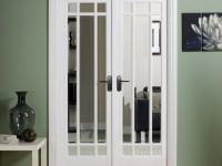 Двери с зеркалом: преимущества и недостатки использования зеркальных поверхностей (85 фото)