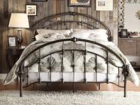 Кованые кровати — актуальные модели и применение в современных интерьерах (115 фото)