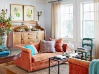Оранжевая мебель — оптимальные сочетания для создания позитивного дизайна. 100 фото-идей оформления интерьера