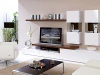 Полка под телевизор — оптимальные конструкции и советы как правильно расположить в интерьере (115 фото)