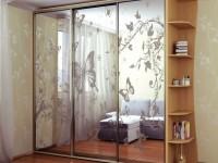 Шкаф-купе с зеркалом — подбор модели под интерьер комнаты и стильные варианты украшения (130 фото)