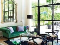 Зеленый диван — 115 фото дизайнерских моделей и советы по их размещению
