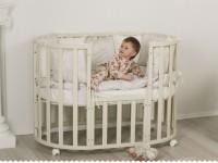 Выбор детской кроватки: критерии, функционал, матрасы, виды и особенности размещения (125 фото)