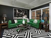 Зеленая мебель – правильный подбор под дизайн интерьера и стильное сочетание основных элементов (100 фото)