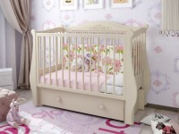 Детская кроватка с маятником – оптимальные модели для новорожденных. Правила подбора и 130 фото лучших кроваток