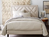 Кровать с мягким изголовьем – 140 фото самых интересных дизайнерских моделей 2018 года