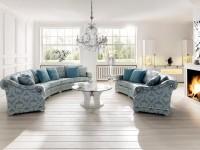 Круглый диван: особенности использования в дизайне и интерьерные правила оформления (120 фото)