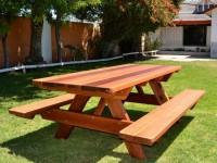 Стол-скамейка – лучшая парко-садовая мебель, правила ее применения и установки (130 фото)