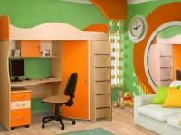 Детские стенки — 80 фото размещения в различных комнатах и критерии выбора детских стенок
