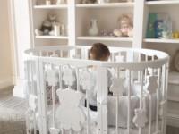 Кроватка маятник — виды, правила применения и особенности размещения детской кровати (115 фото)