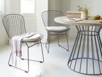 Металлические стулья – особенности применения и выбора. 100 фото лучших современных моделей