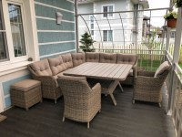 Плетеная мебель в интерьере – лучшие идеи применения и советы по выбору места расположения (115 фото)