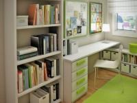 Стол-стеллаж – основные требования, современные конструкции и особенности размещения (130 фото)