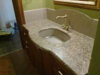 Столешница в ванную — современные модели и рекомендации по их применению в ванной (100 фото)