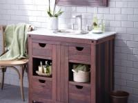 Столик для ванной — стили, виды, конструкции, характеристики и особенности лучших современных идей применения (видео + 105 фото)