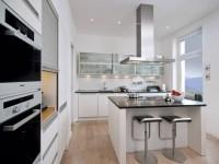 Встроенная кухня: фото красивого дизайна, идеи планировки и удачного сочетания элементов интерьера в кухне