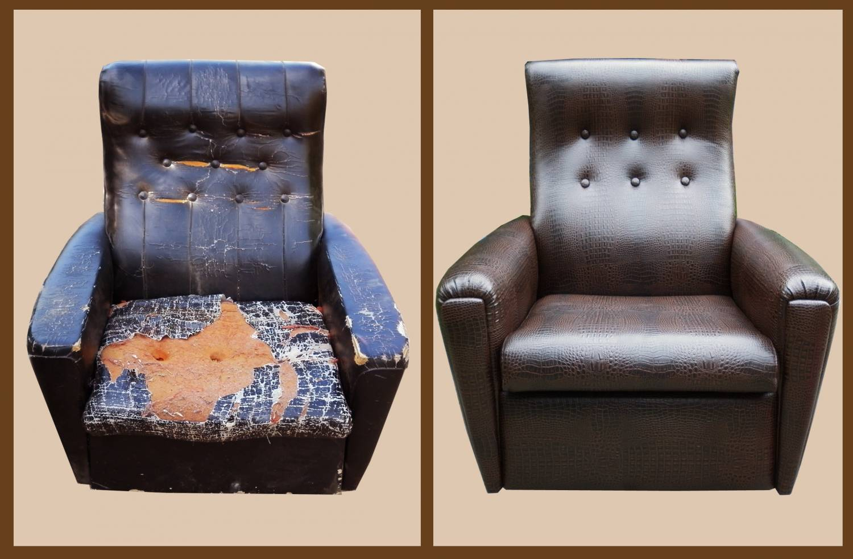 фамилию реставрация мягкой мебели фото до и после пельмени