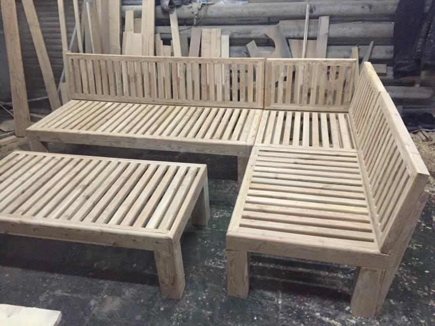Мебель для бань и саун из дерева