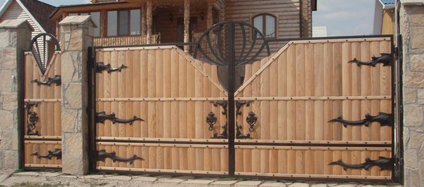 Калитки ворота на дачный участок