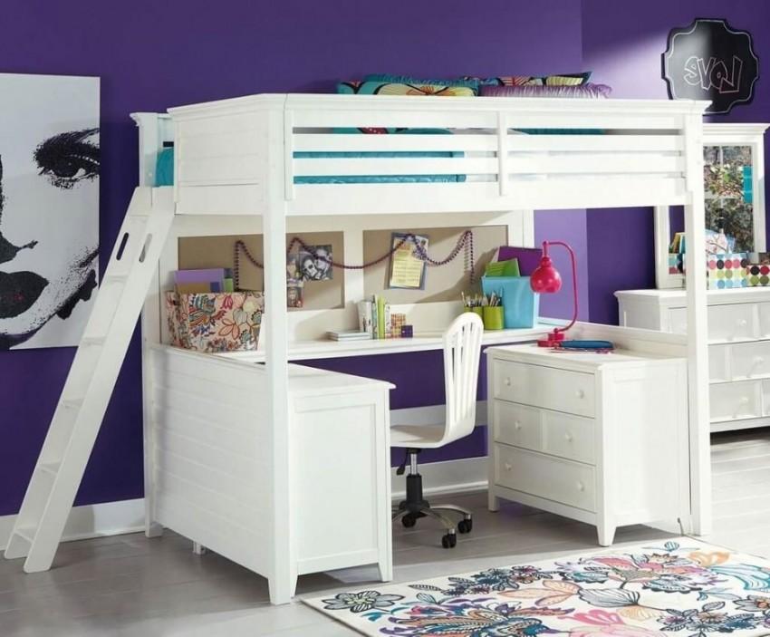 Кровать-чердак Ikea 45 фото лучшие модели с рабочей зоной и их размещение в интерьере