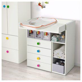 Пеленальный стол — современные модели, типы, функционал и особенности применения (145 фото)