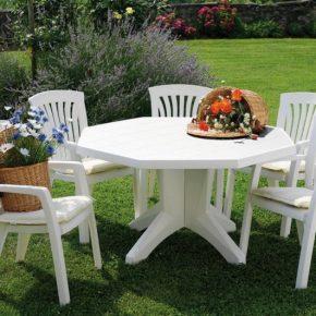 Стол для дачи — идеи применения в ландшафтном дизайне. Современные модели и рекомендации по выбору (150 фото)