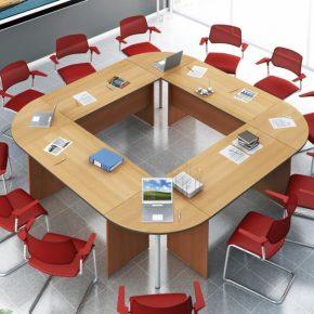 Стол для переговоров — советы по выбору и установке лучшего стола для ведения переговоров (105 фото)