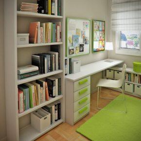 Стол-стеллаж — основные требования, современные конструкции и особенности размещения (130 фото)