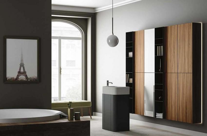 Напольный шкаф в ванную комнату 64 фото узкий комод шкафчик своими руками конструкция размером 60 см варианты для стиральной машины