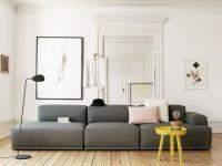 Модульные диваны — отличительные черты и особенности применения в дизайне интерьера (140 фото)