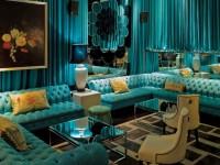 Бирюзовый диван — подбор роскошной, яркой и современной модели (130 фото-идей)