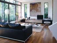 Черный диван — 105 фото правильного использования стильного элемента интереьра