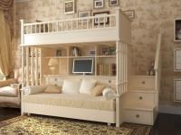 Кровать чердак — 140 фото особенностей подбора и применения современных моделей