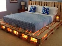 Кровать из поддонов — 120 фото стильных примеров и вариантов дизайнерских решений