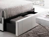 Кровать с ящиком для белья: выдвижные и подъемные конструкции. 105 фот современных кроватей с нишами