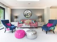 Розовая мебель — варианты сочетаний и классических комбинаций цвета и стиля (115 фото)