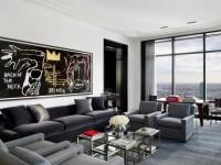 Серая мебель: гармоничное объединение цветов и оттенков в дизайнерском интерьере (125 фото)