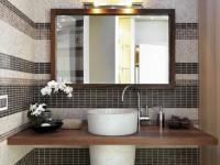 Зеркало в ванную комнату — интерьерные решения и правила размещения. 100 фото использования зеркал