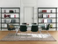 Стеллаж деревянный — идеи применения стильного дополнения интерьера (115 фото)