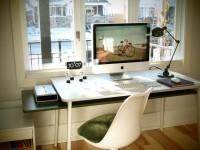 Компьютерный стол — современные проекты, стильные форматы и варианты персонализации. 105 фото лучших идей