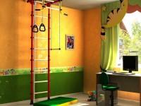 Детская шведская стенка — технология сборки и советы по расположению детской шведской стенки (видео + 95 фото)