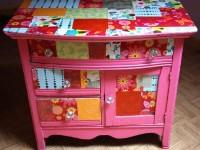 Особенности декупажа мебели: особенности оформления и советы по выбору идеи для украшения мебели (95 фото)