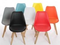 Пластиковые стулья — лучшие модели 2019 года, применение в домашнем интерьере и особенности выбора (110 фото)